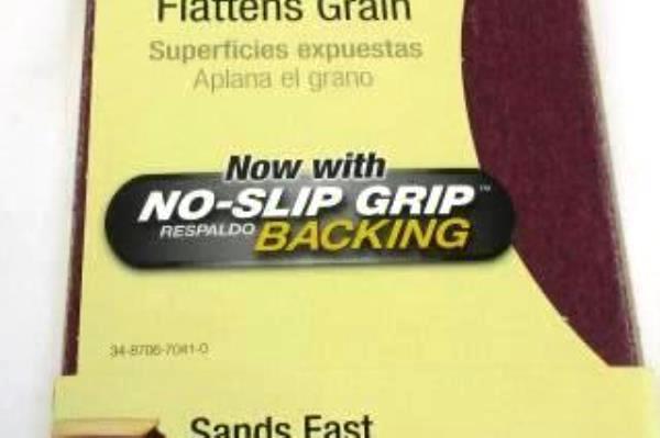 2 Packs 3M SandBlaster Advanced Sandpaper 80 Course & 120 Medium Grits 10 Sheets