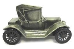 Banthrico Inc Chicago USA 1974 Car Coin Bank Bronze Finish 1915 Chevrolet Coupe