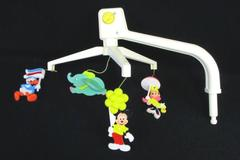 Vintage Crib Nursery Mobile Mickey Minnie Mouse Dumbo Donald Duck Balloon