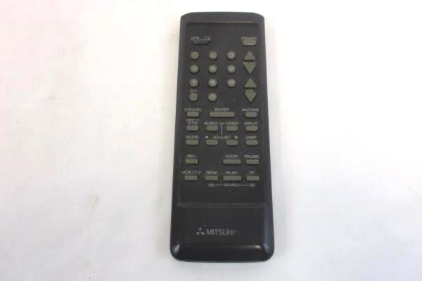 Vintage Mitsubishi TV Remote and Owner's Guide CS-20201