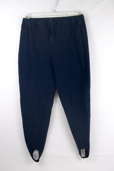 Lot Of 3 Women's PANTS Navy Blue Green Parachute Stirrup Size Small
