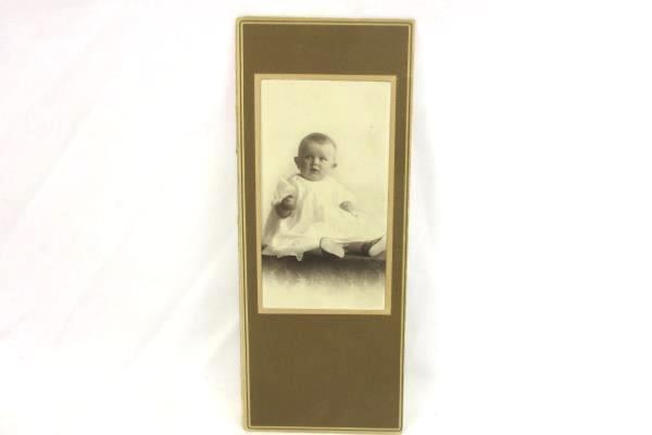 Vintage Lot Professional Photographs on Cardboard 1900s Children Women Tacoma WA