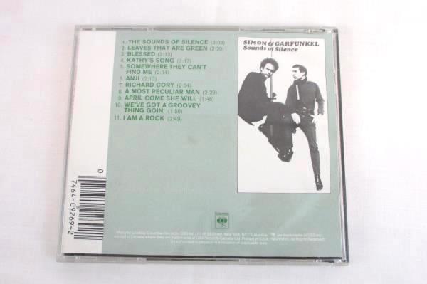 Simon & Garfunkel Sounds of Silence CD Columbia Records CK 9269