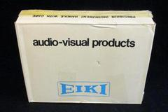 Eiki Portable Commercial Cassette Player Tape Recorder Model 3279A HTF w/ Box