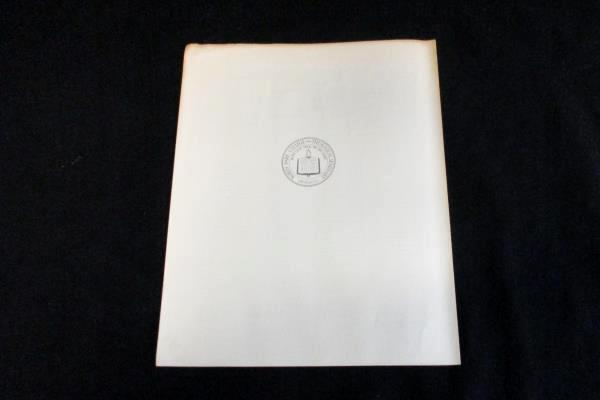 VTG 1962 North Park College & Theological Seminary 69th Commencement Program