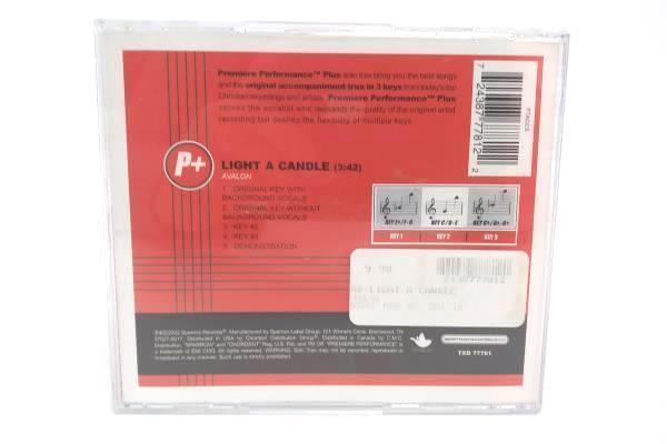 Avalon CD Single Light A Candle 5 Alternate Tracks 2002 Sparrow