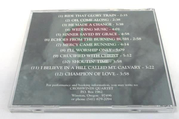 The Crosswinds Quartet From The Heart CD 12 Songs Oregon Band