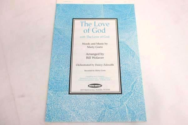 Lot of 4 Choral Sheet Music Booklets The Love of God SATB #080689335273