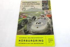 Vintage August 2nd 1964 German Automobile Club Magazine Dunlop Ludwig Erhard
