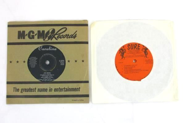 Lot of 4 Records 45 RPM MGM Moritat Let's Have a Party Philadelphia String Band