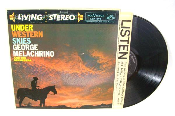 Under Western Skies George Melachrino Vinyl Record
