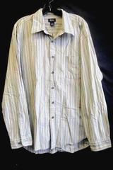 BASS Men's Button-Up Shirt Multi-Color Size XL 100% Cotton