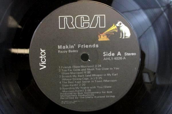Razzy Makin' Friends Vinyl LP RCA Records 1981 AHL1-4026