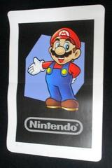 Club Nintendo AR Cards DS Augmented Question Mark Mario Mii Giant Poster