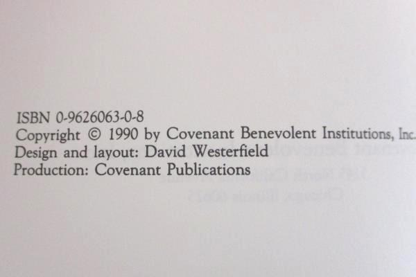 A Giving Spirit The Story of Paul Brandel Ed. by Eloise Nelson 1990 Covenant