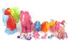 Mixed Lot of 12 Ponies Hasbro My Little Pony Generic Multi-Color Fantasy Pretend