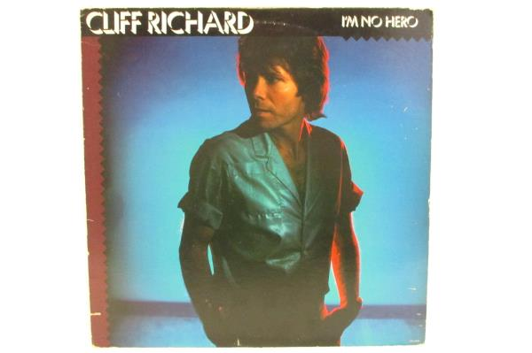Cliff Richard - I'm No Hero LP Vinyl Album 1980 SW-17039  Lyric Sheet Pop