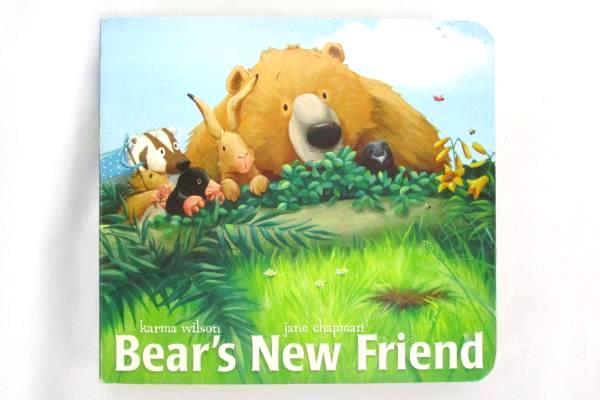 Bear's New Friend by Karma Wilson Jane Chapman Simon Classic Board Books