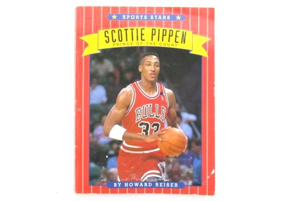 Scottie Pippen: Prince of the Court by Howard Reiser 1993 Paperback