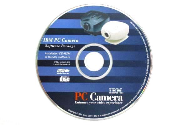 IBM PC Camera Install Software Program CD Windows 98/2000