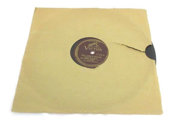 John Charles Thomas - 78rpm single 10-inch – Victor V.E. #1736 The Lord's Prayer