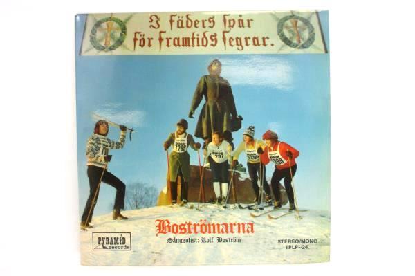 Boströmarna I Fäders Skivspår Vinyl LP Pyramid Records 1971 TPLP-24