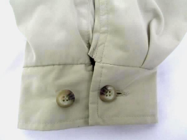 Norm Thompson Men's XXL Full Zip Collar Rain Jacket Tan Outerwear